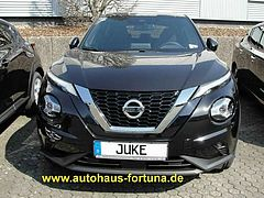 Nissan Juke N-Connecta Navigation Kamera LED Winterpak